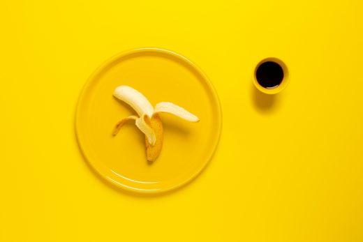 glutenvrije banaan als ontbijt