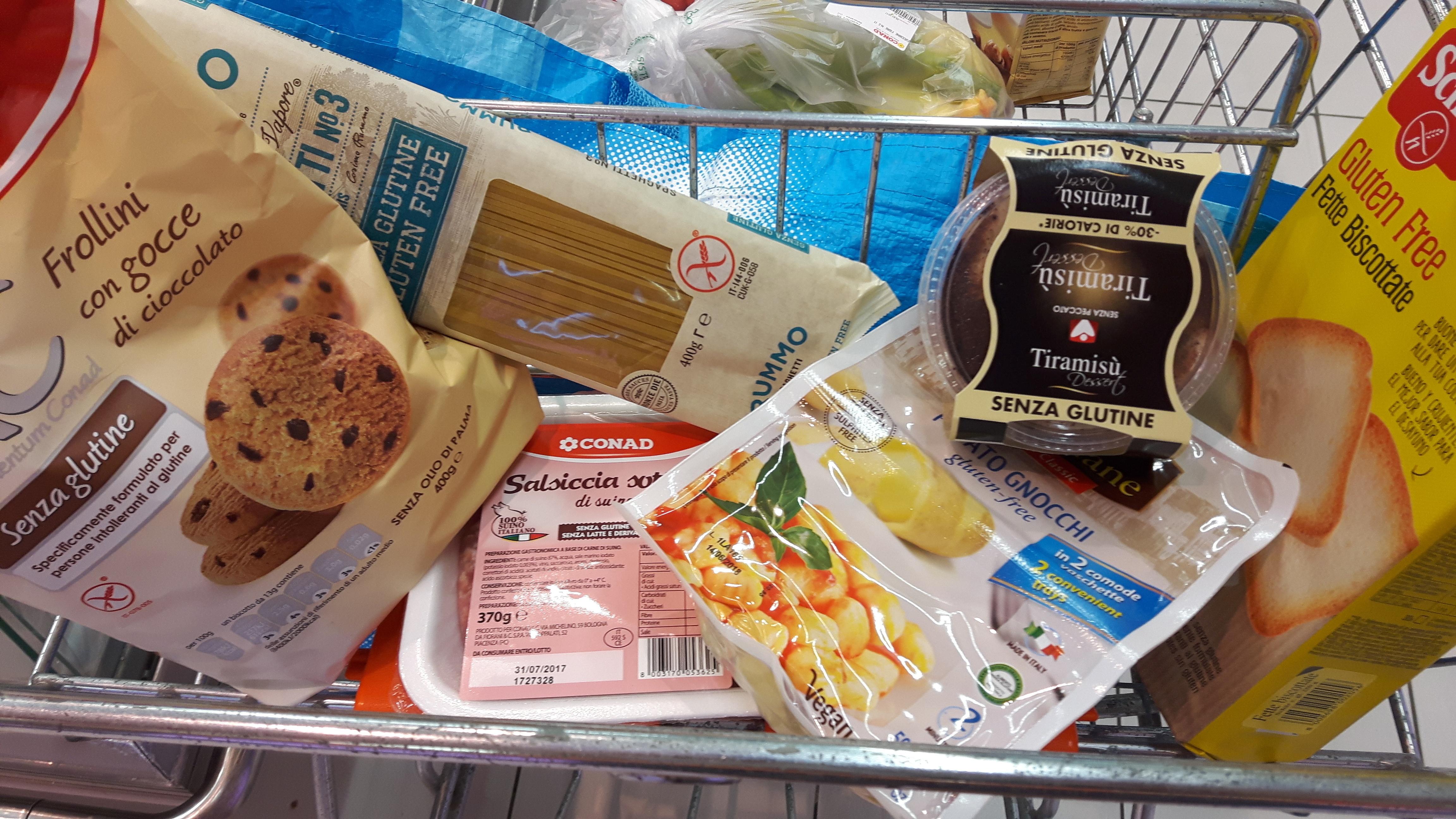 glutenvrij Italië