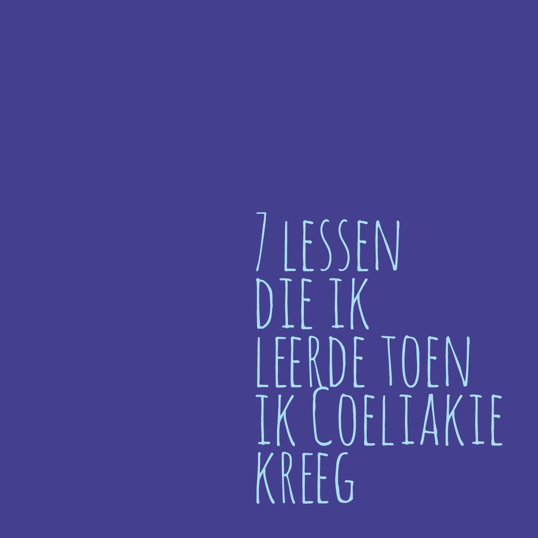7 lessen coeliakie