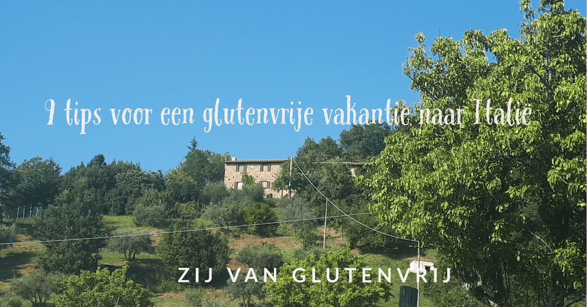 tips glutenvrije vakantie italie