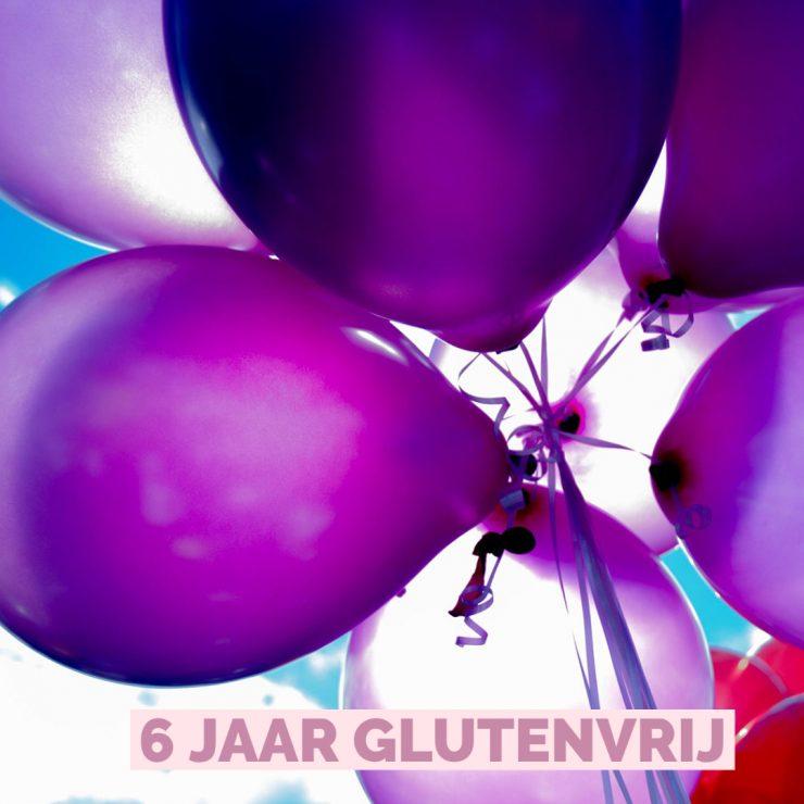 Zij viert zesde glutenvrije verjaardag